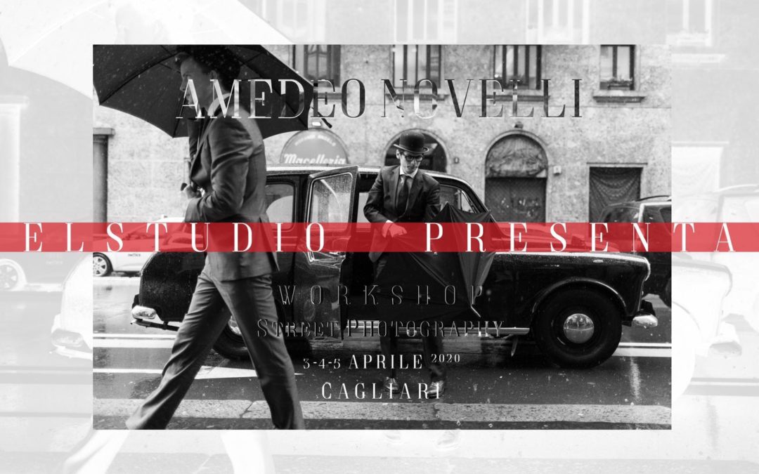 WORKSHOP Amedeo Novelli – Street Photography